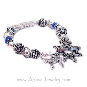 Bali Mothers Bracelet with ARON in Hebrew