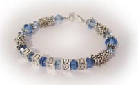 Hebrew FAMILY Bracelet - name bracelets