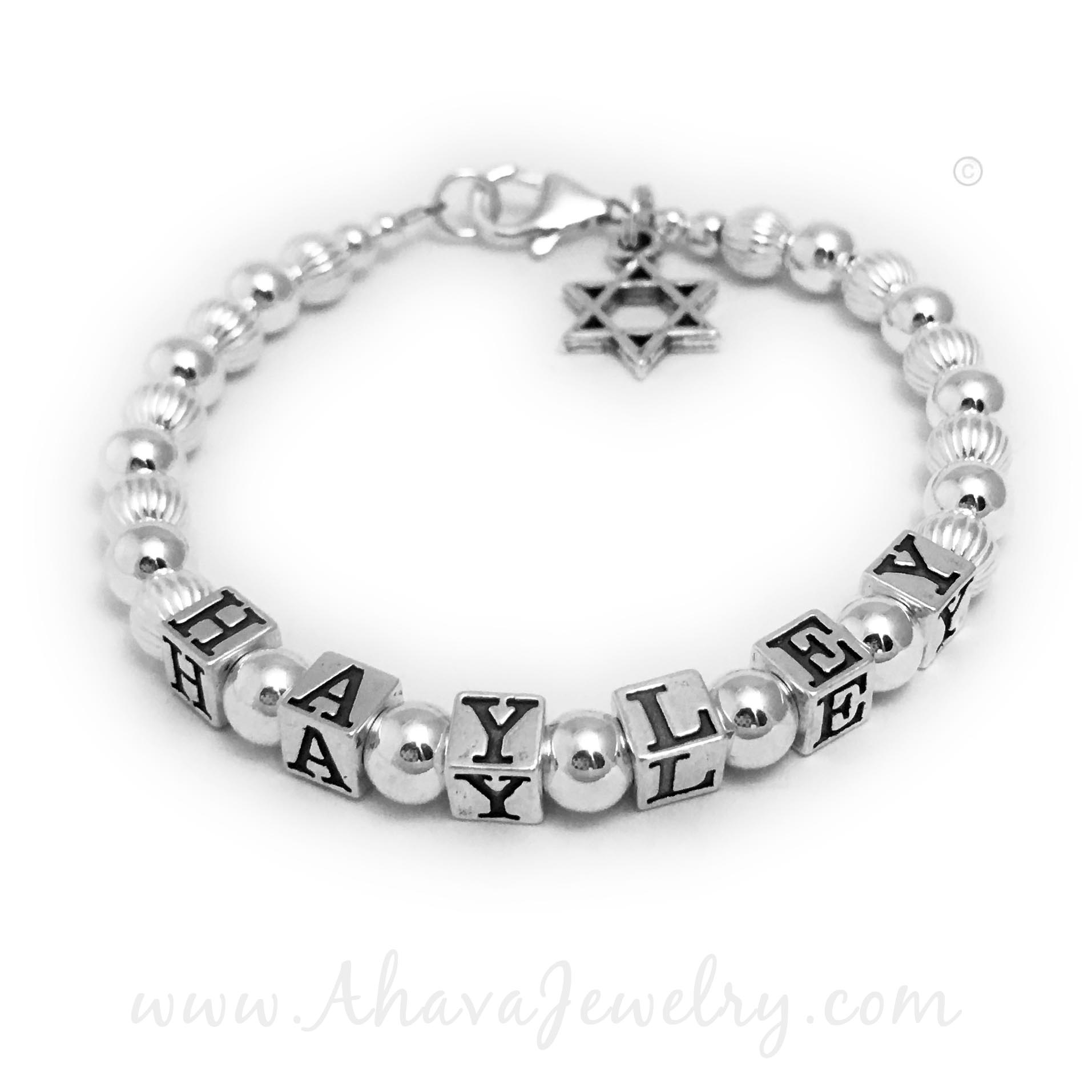 Haley Bracelet for Mommy with a Star of David Charm